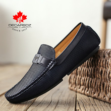 2020 Men Shoes Men Loafer Shoes Fashion Autumn  Men Casual Shoes Design Luxury Leather Moccasins Male Footwear Brand Mens Flats