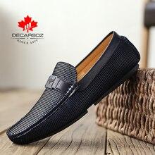 2020 männer Schuhe Männer Loafer Schuhe Mode Herbst Männer Casual Schuhe Design Luxus Leder Mokassins Männlichen Schuhe Marke männer wohnungen