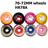 4Pcs 78A 70MM Skateboard Flash Wheels 72mm Cruiser SurfSkate Board Solid Frosted PU Wheels Replace Parts Supply Drop Shipping