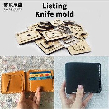 Wooden Die Cutting Diy 2020 Short multifunction Wallet card bag Dies Fille Scrapbooking Suitable For Die-cutting Machines