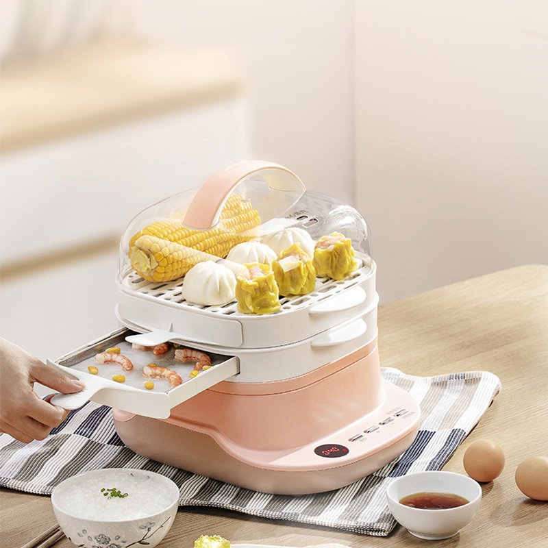 Household Food Steamer Multifunctional Rice Noodles Roll Steamer Steamed Vermicelli Roll Breakfast Noodles Machine CFJ-A30Q3