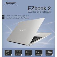 Jumper EZbook 2, ноутбук с Windows 10, Intel, 4 Гб ОЗУ, 64 ГБ, четырехъядерный, 14,1 дюймов, тонкий ультрабук, легкий портативный ноутбук