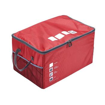 Car Trunk Storage Bag Oxford Cloth Storage Box Collapsible Washable Container Bag SUV Van Cargo Carrier