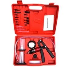 Ручной вакуумный и давление насос тестер комплект тормоза Bleeder набор для автомобиля