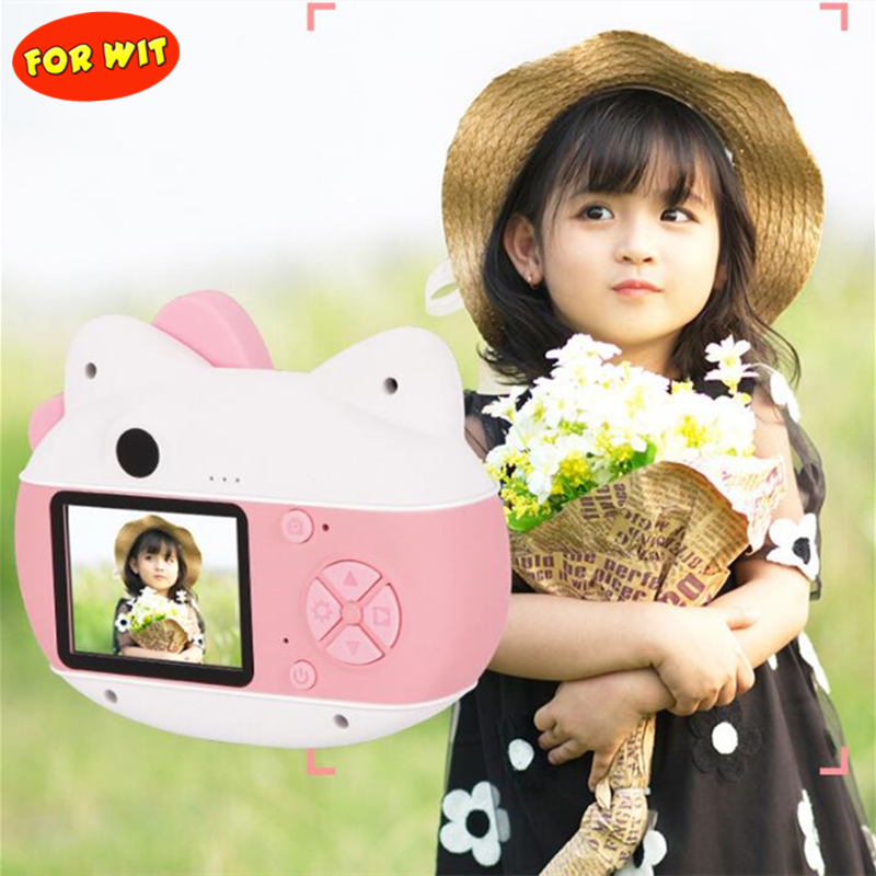 Wifi Upload Mini Kid Camera, Photograph 2.000-megapixe, Video 0.800-megapixe, With 16GB Micro SD Card