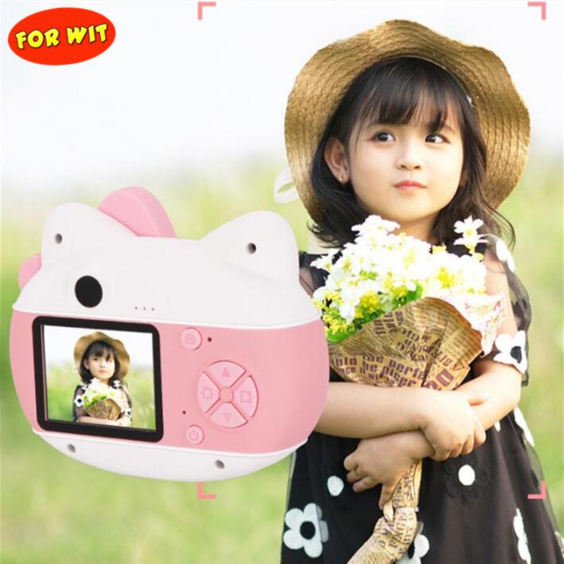 Wifi Upload Mini Kid Camera, Photograph 2.000-megapixe, Video 0.800-megapixe, With 16GB Micro SD Card