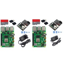 Para Raspberry Pi Modelo B, RAM de 4GB BCM2711 Quad Core Cortex-A72 V8 1,5 GHz 2,4/5,0 GHz WIFI Bluetooth 5,0 RPI 4B(China)