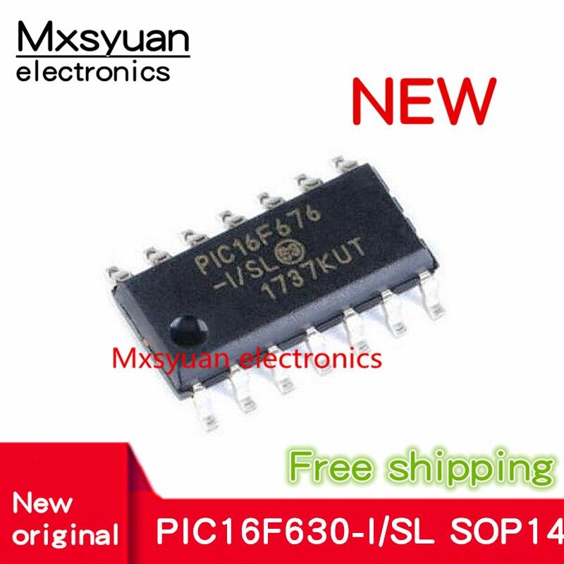 10 ~ 50 шт. PIC16F676-I/SL PIC16F676 16F676 SOP14 новый микроконтроллер чип