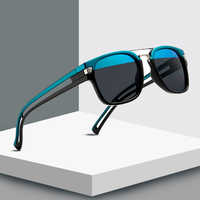 2019 nuevas Gafas De Sol cuadradas De doble color para hombres y mujeres De marca De diseñador Gafas De Sol UV400 Gafas De Sol
