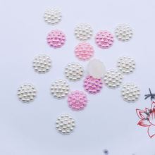 100 шт выпуклые круглые декоративные украшения для скрапбукинга