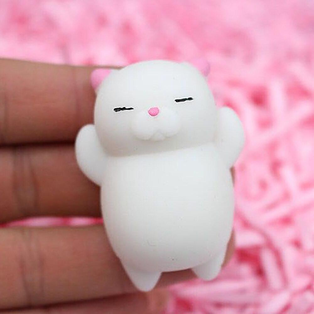 Cute Mochi Cat Slow Rising Squeeze Healing Fun Kids Kawaii Kids Adult Toy Stress Reliever Decor Dropshipping @A