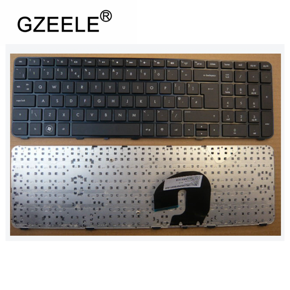 UK Keyboard For HP Pavilion Dv7-4000 DV7-4050 Dv7-4100 Dv7-4200 Dv7-5000 Dv7t-5000 LX7 UK Black With Frame Laptop Keyboard