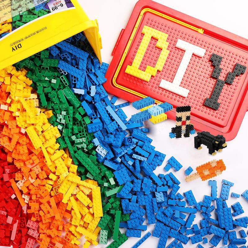 Creative Toys Weapon-Figures Base-Plate Building-Blocks City-Bricks Construction-Block