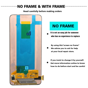 Image 2 - 100% SUPER AMOLED 6.7 LCD Display For Samsung Galaxy A80 A805 SM A805F A90 A905F Touch Screen Digitizer Assembly+Service pack