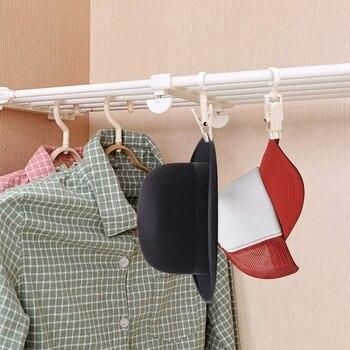 Ropa clip de ganchos Super fuerte de plástico giratorio colgante Clips de cortina pinzas 4,3 pulgadas pinzas para toallas de playa/salón C