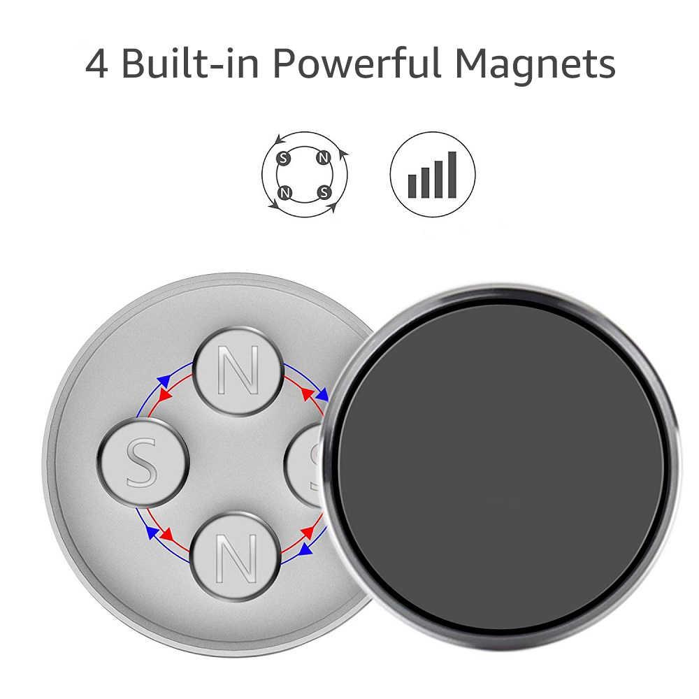 Untoom araba telefon tutucu manyetik evrensel mıknatıs telefon dağı iPhone X Xs Max Samsung araba cep telefonu telefon tutucu standı