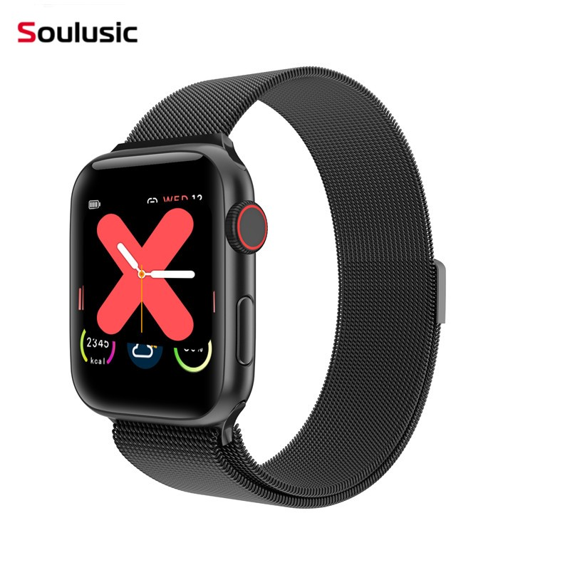 Soulusic Top <font><b>IWO</b></font> 15 W68 <font><b>44mm</b></font> <font><b>Smart</b></font> <font><b>Watch</b></font> Men Woman Heart Rate Monitor Call Message Reminder 1:1 <font><b>Watch</b></font> 5 PK <font><b>IWO</b></font> <font><b>8</b></font> <font><b>IWO</b></font> 12 Pro image
