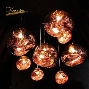 Image 4 - Nordic PVC LED Pendant Lights Lighting Lava Hanging Lamp for Living Room LOFT LED Pendant Lamp Bedroom Bar Luminarias Hanglamp