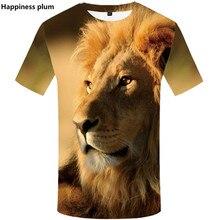 цена на футболка 3D Printed Animal lion tshirt 2019 Summer рубашка harajuku shirts Hip Hop Short Sleeve top tees лгбт Plus size S-5XL