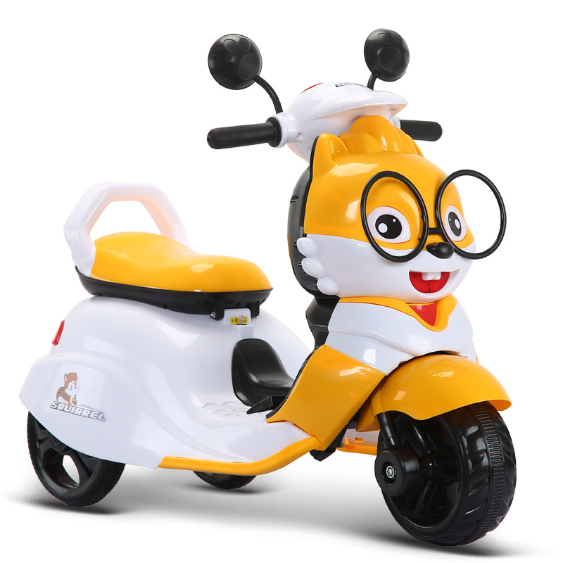New Children Electric Motorcycle TrikeThree Wheels Electric Car For Kids Ride On 1-3-6 Years Charging Music Motorcycle