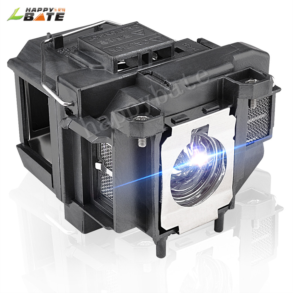 HAPPYBATE ELPLP67/V13H010L67 Replacement Projector Lamp For EB-W16 EB-W16SK EB-X02 EB-X11 X11H X12 X14 X15 TW480,TW550,EX3210