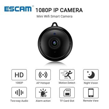 Ασύρματη εσωτερική κάμερα νυχτερινής όρασης 1080p escam v380