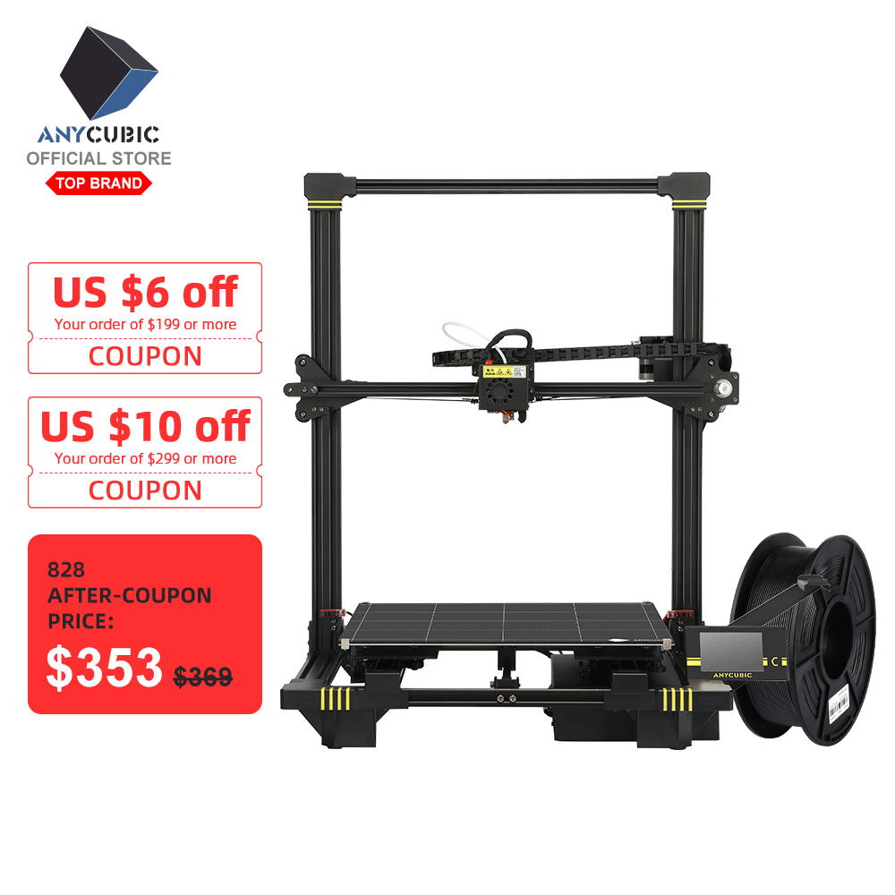 ANYCUBIC 3d-Kit Titan Extruder 3d-Printer Impressora Tft-Auto-Leveling-Printer Dual-Z