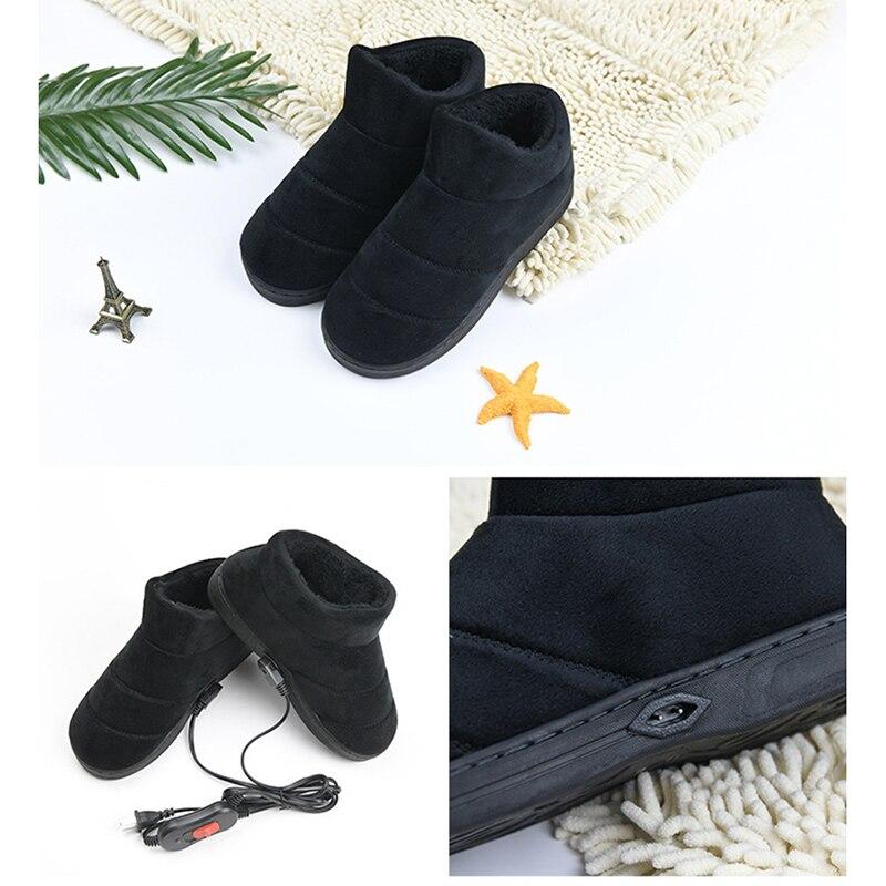 220V электрический нагреватель нагревательный элемент обувь Контроль температуры нагреватель Электрический Утеплитель для ног с подогрево...