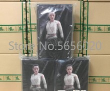 Hot Toys MMS336 MMS337 Star Wars The Force Awakens Rey Daisy Ridley 12 inch Figure NEW cool eye led light storm trooper star wars the force awakens clone troopers stormtrooper joint movable pvc action figure toys