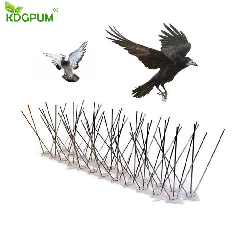 Hot selling 6M Plastic Bird and Pigeon Spikes Anti Bird Anti Pigeon Spike for Get Rid of Pigeons and Scare Birds Pest Control title=
