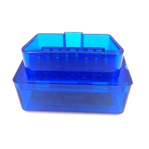 Image 5 - New Version Diagnostic Tool Code Reader V2.1 Blue Color Super Mini ELM327 ELM 327 Bluetooth OBD II OBD OBD2 Scanner