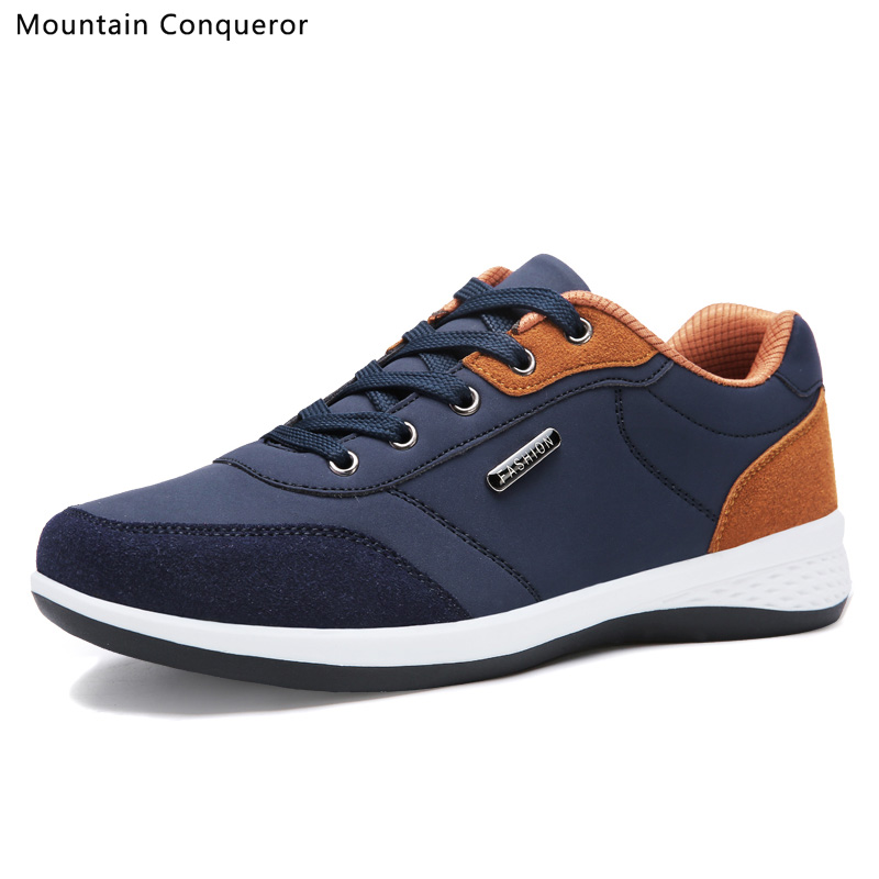 Mountain Conqueror Men Sneakers For Men 2019 New Fashion Autumn Men's Shoes Brand Sport Running Shoes Men Casual Flats