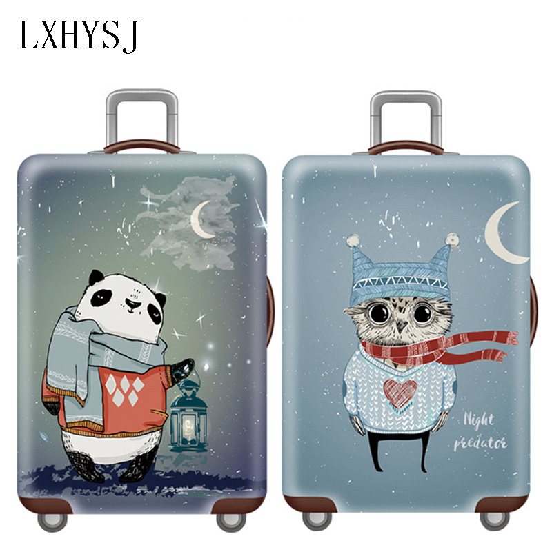Thicken Luggage Protective Cover Suitcase Case For 18-32 Inch Travel Bag Covers Elastic Luggage Dust Cover Travel Accessories