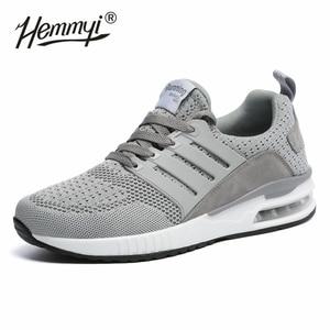 Image 3 - Женские кроссовки, сетчатые, дышащие, Basket Femme, на воздушной подушке, для пары, повседневная обувь, унисекс, Tenis Feminino, размеры 36 45, весна/осень