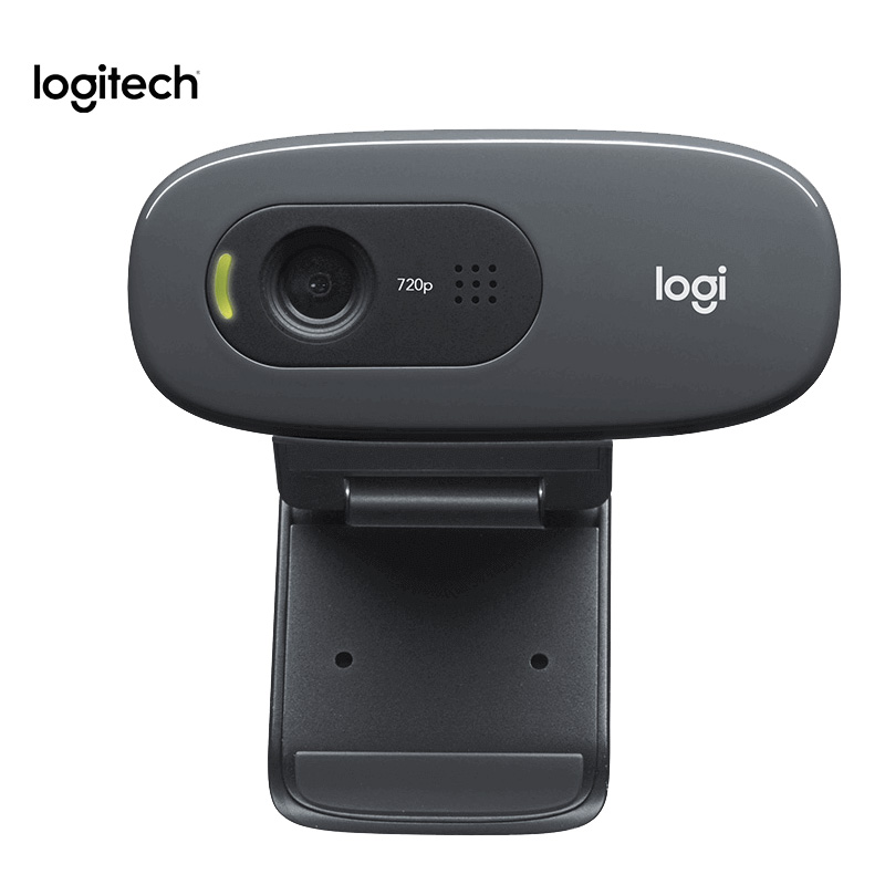 Logitech C270/C270i Webcam 720p HD Built-in Microphone Web Camera For PC Web Chat Camera