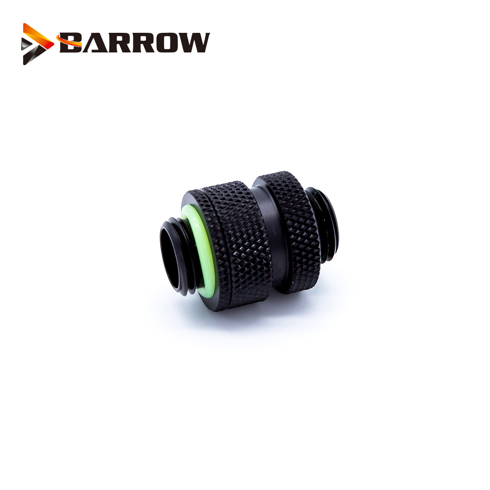 Barrow Rotary Connectors Extender 16 22MM use for SLI CF Card G1 4 quot Male to Male Cross Fire Fitting Metal Telescopic fitting in Fans amp Cooling from Computer amp Office