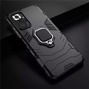 Image 5 - Chống Sốc Coque Cho Redmi Note10 Note 10 Pro Ốp Lưng Giá Đỡ Chiếc Nhẫn Ốp Điện Thoại Dành Cho Redmy Không 10 Pro S 10S Para Fudna