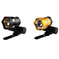 Fahrrad USB Aufladbare Licht Highlight Warnung Licht Mountainbike Scheinwerfer 300lumen Aluminium Legierung