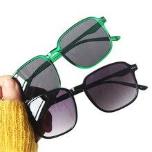 Fashion Sunglasses Rice Nails Sun Glasses Simplicity Transparent Eyeglasses Anti-UV Spectacles Oversize Frame Frame Eyewear A++