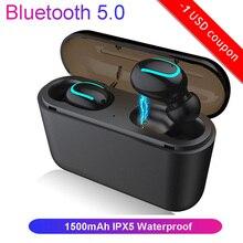 EARDECO Bluetooth 5.0 Earphones TWS Wireless Headphone Blutooth Earphone Handsfree earpieces Sport Earbud Gaming Headset Phone