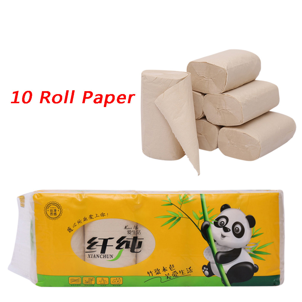 Roll Paper Print Interesting Toilet Paper Table Kitchen Paper Household Puree Toilet Paper 10 Rolls Suitable For Home, Cafe