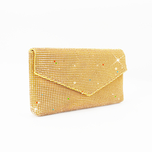 2019 new design hot sale crystal diamonds diamante evening bag lady woman girl female envelope clutch