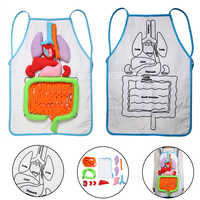 Anatomy Apron Human Body Organs Awareness Educational Insights Apron Toys Preschool Home Teaching Aids For Children Kids