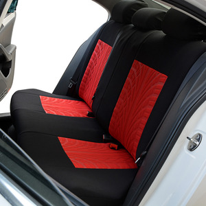 Image 4 - AUTOYOUTH Fashion Tire Track Detail Style Universal Car Seat Covers Fits Most Brand Vehicle Seat Cover Car Seat Protector 4color