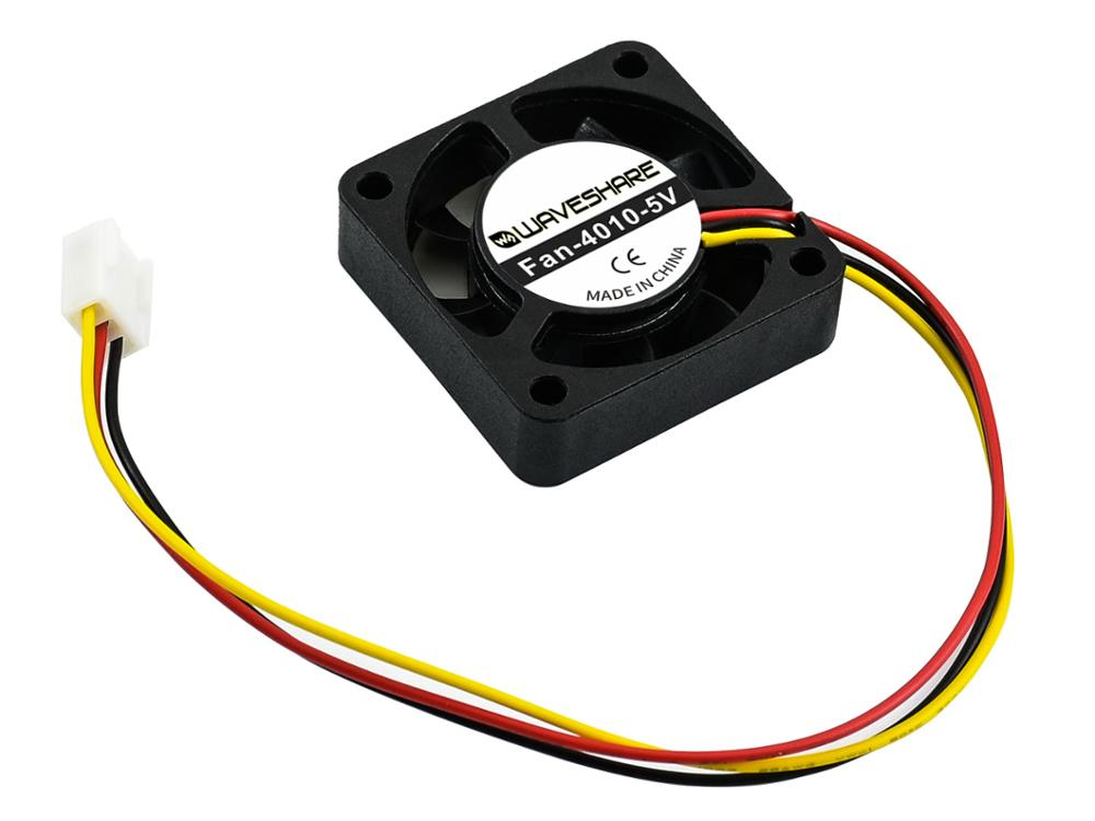 Waveshare  Dedicated Cooling Fan For Jetson Nano, 5V, 3PIN Reverse-proof,3PIN Reverse-proof Connector