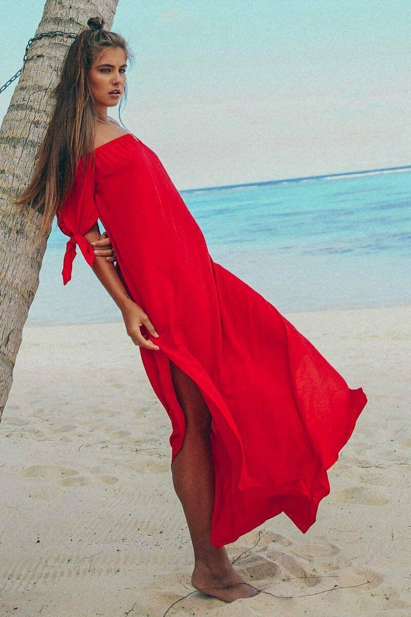 Women Cover Up Beach Woman Maxi Summer Beachwear Long Dress Off Shoulder Beach Summer Cover-Ups Robe De Plage