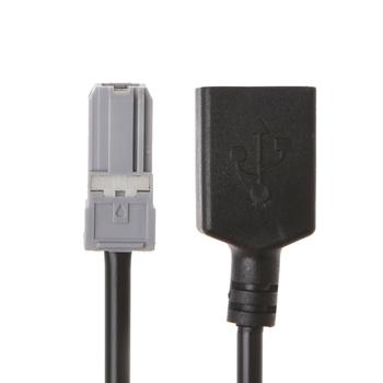 Samochodowy przewód Audio Aux Audio do złącza adaptera USB do Toyota RAV4 EZ Verso Camry tanie i dobre opinie wupp CN (pochodzenie) 12 v