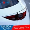 Für Mazda CX 5 CX5 2017 2018 ABS Chrom Hinten Schwanz Licht Lampe Dekoration Streifen Abdeckung Trim 4 stücke Auto Styling zubehör|Chrom-Styling|   -