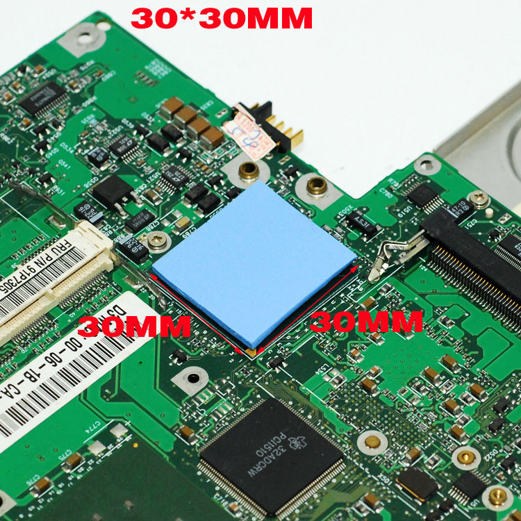 Thermal pad 6.0 W/mK 0.5mm 1.0mm 1.5mm 2.0mm 2.5mm 3.0mm 4.0mm High Efficient thermal conductivity Original authentic cpu cooler 3