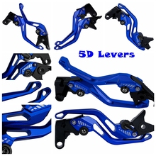 For Yamaha BWS 100 ZUMA /MBK X-Over 125 AEROX /Grand AXIS 50 /100 CNC Motorcycle 5D New Style Long&Short Brake Clutch Levers cnc bws